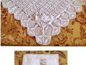 Комплект из хлопка на выписку для Виктории. Ярмарка Мастеров - ручная работа, handmade.