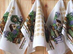 Видеоурок: как быстро сшить полотенца с идеально ровной подгибкой без разметки. Ярмарка Мастеров - ручная работа, handmade.