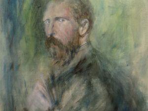 Ван Гог. Портрет в процессе создания/. Ярмарка Мастеров - ручная работа, handmade.