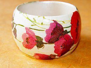 """Мастер-класс """"Браслет Полевые цветы"""". Ярмарка Мастеров - ручная работа, handmade."""