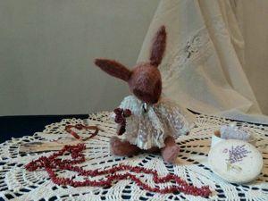 Сердечный заяц с цветами. Ярмарка Мастеров - ручная работа, handmade.