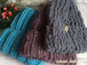 Супер толстые зимние шапки. Ярмарка Мастеров - ручная работа, handmade.