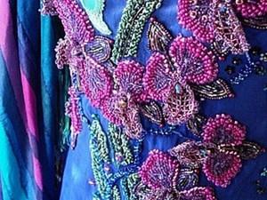 Мастер-класс: вышивка платья бисером. Часть первая: организация рабочего места. Ярмарка Мастеров - ручная работа, handmade.