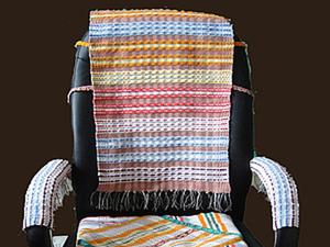 Как сделать удобную накидку на кресло. Ярмарка Мастеров - ручная работа, handmade.