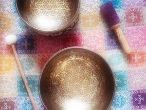 Символы на чашах  « Цветок Мироздания». Ярмарка Мастеров - ручная работа, handmade.
