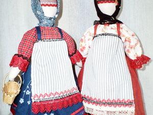 Куклы из нашего магазина. Куклы в русских народных костюмах. Ярмарка Мастеров - ручная работа, handmade.