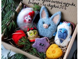 Сладкий декабрь! Елочные игрушки со скидкой 50%. Ярмарка Мастеров - ручная работа, handmade.