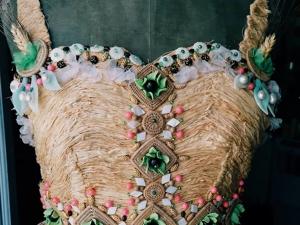Вышивка с рафией от Johan Luc Katt. Ярмарка Мастеров - ручная работа, handmade.