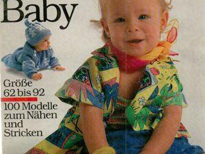 Burda Special «Unser Baby» 1989, E 968. Ярмарка Мастеров - ручная работа, handmade.