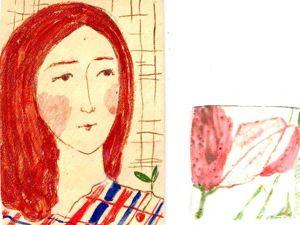 Изразцы с рисунками. Ярмарка Мастеров - ручная работа, handmade.