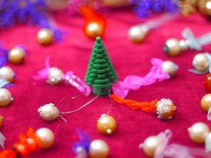 Создание мини елочных украшений. Ярмарка Мастеров - ручная работа, handmade.