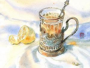 За чаем не скучаем.... Ярмарка Мастеров - ручная работа, handmade.