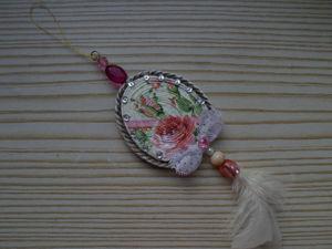 Мастерим интерьерную подвеску-медальон к Пасхе. Ярмарка Мастеров - ручная работа, handmade.