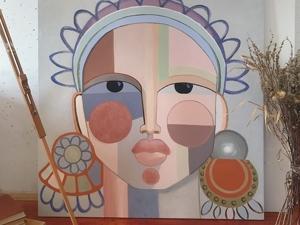 Портрет в стилизованном стиле. Ярмарка Мастеров - ручная работа, handmade.