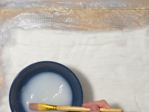 Ватный лист своими руками. Ярмарка Мастеров - ручная работа, handmade.
