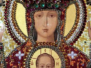Православная Икона  « Неупиваемая Чаша» ,. Ярмарка Мастеров - ручная работа, handmade.