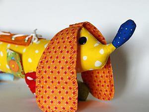 Как сшить развивающую игрушку «Таксу». Ярмарка Мастеров - ручная работа, handmade.