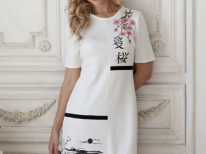 Аукцион на Вязаное платье  ! Старт 4000 руб.!. Ярмарка Мастеров - ручная работа, handmade.