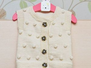 Knitting Vests for Kids — Ideas for Inspiration!. Livemaster - hecho a mano - handmade.