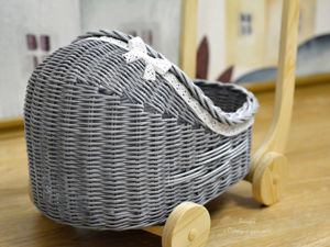 Фотоотчет плетеной коляски для Елены. Ярмарка Мастеров - ручная работа, handmade.