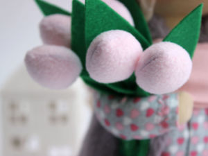 Sewing Tulips for Dolls. Livemaster - handmade