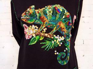 Использование камней в декоре одежды. Ярмарка Мастеров - ручная работа, handmade.