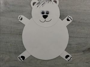 Мастерим поделку Белого медведя. Ярмарка Мастеров - ручная работа, handmade.