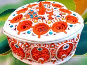 Видеоурок: мастерим ажурную шкатулку «Сердечко торсион». Ярмарка Мастеров - ручная работа, handmade.