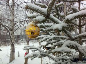 Снег как рождественский подарок. Ярмарка Мастеров - ручная работа, handmade.