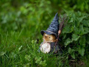 Жила-была маленькая ведьма. Ярмарка Мастеров - ручная работа, handmade.