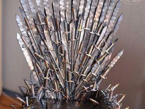 Делаем миниатюрный железный трон из сериала «Игра престолов». Используем подручные материалы. Ярмарка Мастеров - ручная работа, handmade.