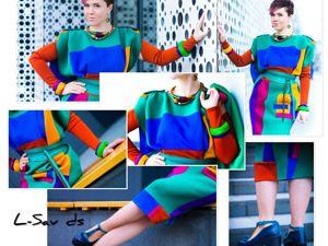 Футуристичное платье  «Назад в будущее». Ярмарка Мастеров - ручная работа, handmade.