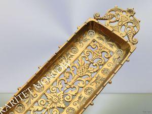 Раритетище Подставка большая бронза 19век 28. Ярмарка Мастеров - ручная работа, handmade.