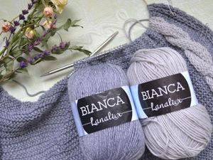 Обзор YarnArt Bianca Lanalux, отзыв на шерстяную пряжу, обзор зимней пряжи для вязания. Ярмарка Мастеров - ручная работа, handmade.