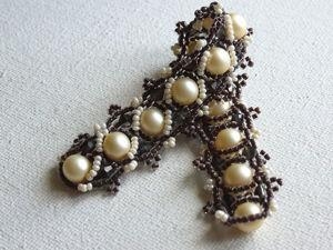 Видеоурок: плетем узкий браслет из бисера и бусин «Зефир в шоколаде». Ярмарка Мастеров - ручная работа, handmade.