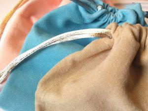 Поступление замшевых мешочков: серые, фиолетовые, голубые, бежевые, персиковые, сиреневые. Ярмарка Мастеров - ручная работа, handmade.