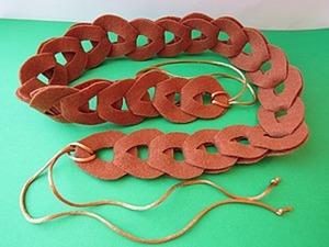 Модный пояс из фетра быстро и недорого. Ярмарка Мастеров - ручная работа, handmade.