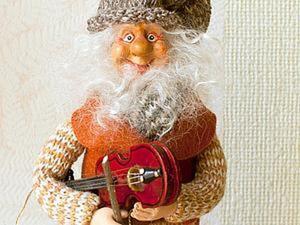 Делаем очаровательного гнома из трикотажных труб. Ярмарка Мастеров - ручная работа, handmade.