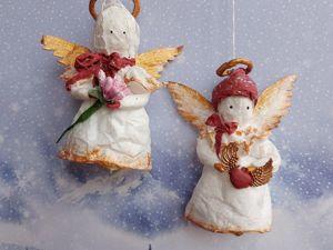 Учимся создавать ватную игрушку Ангел. Ярмарка Мастеров - ручная работа, handmade.