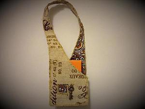 Как легко сделать сумочку для куклы. Ярмарка Мастеров - ручная работа, handmade.