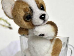 Тедди карманный щенок чихуахуа. Больше фото + видео. Ярмарка Мастеров - ручная работа, handmade.