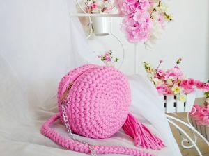 5 самых популярных материалов для вязания сумки. Ярмарка Мастеров - ручная работа, handmade.