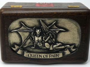 Шкатулка резная Dota 2 Queen of Pain Видеообзор. Ярмарка Мастеров - ручная работа, handmade.