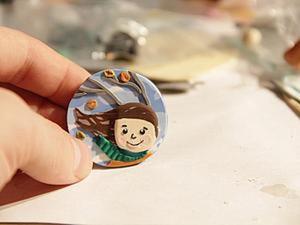 Лепим брошь «Ветродуй» из полимерной глины. Ярмарка Мастеров - ручная работа, handmade.