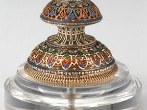 Фаберже. Императорское пасхальное яйцо с вращающимися миниатюрами. Ярмарка Мастеров - ручная работа, handmade.