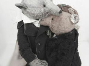 Ильин день. История и мишки для проекта  «Старые фото». Ярмарка Мастеров - ручная работа, handmade.