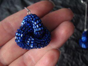 ВИДЕО: Длинные серьги «Роскошь в синем». Ярмарка Мастеров - ручная работа, handmade.