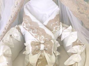 По каким критериям выбирают первое постельное для малыша?. Ярмарка Мастеров - ручная работа, handmade.