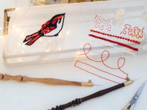 Как я научилась вышивать люневильским крючком. Ярмарка Мастеров - ручная работа, handmade.