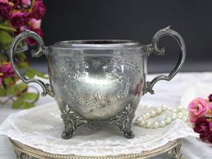 Дополнительные фотографии сахарницы-вазочки. Ярмарка Мастеров - ручная работа, handmade.